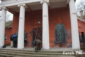 В Керчи снимают кино про войну
