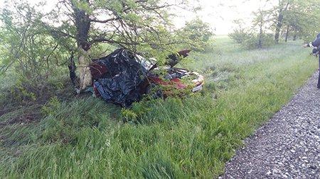 На трассе Симферополь-Керчь в аварии погибли трое человек