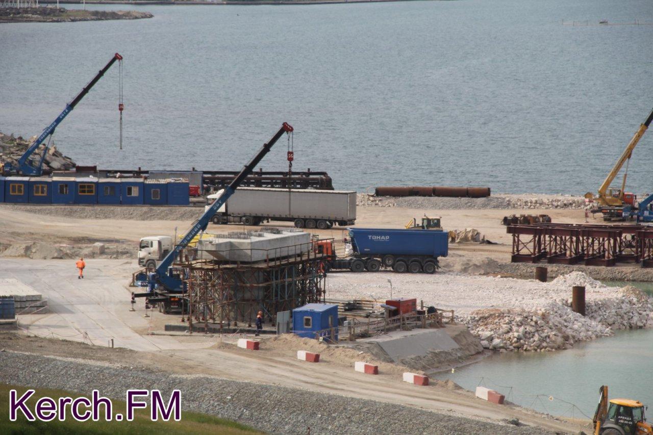 ход строительства керченского моста фото участники должны приложить