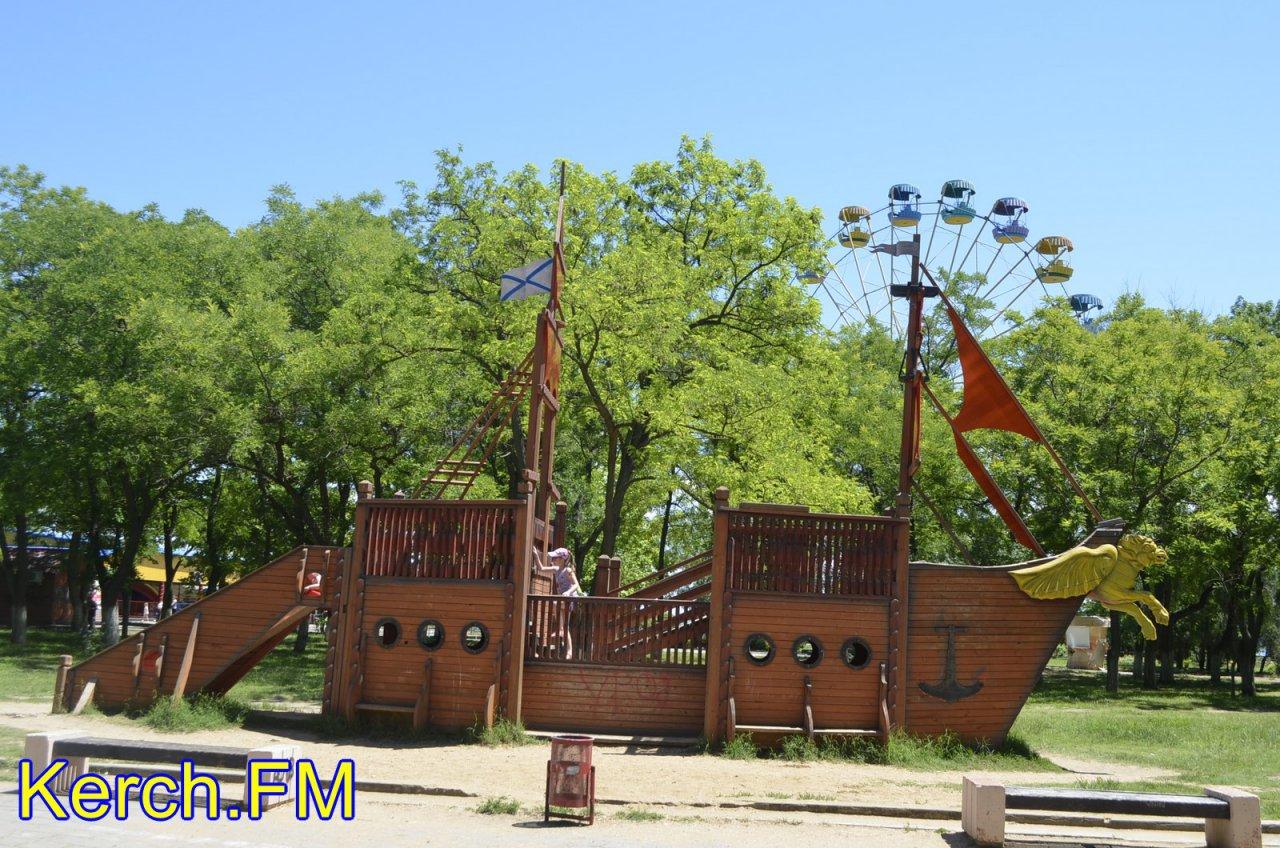 керчь парки аттракционов фото шоуменом