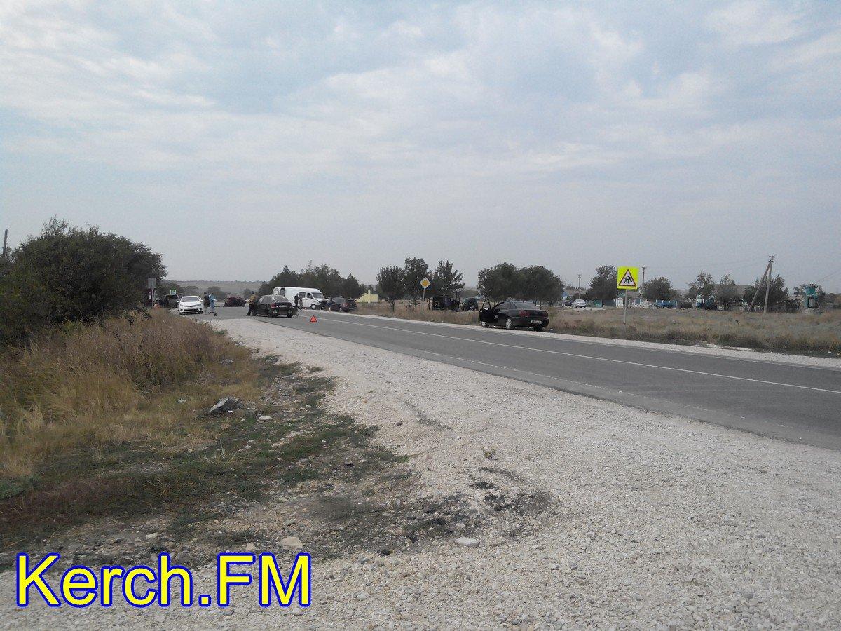 ВЛенинском районе натрассе столкнулись 5 машин
