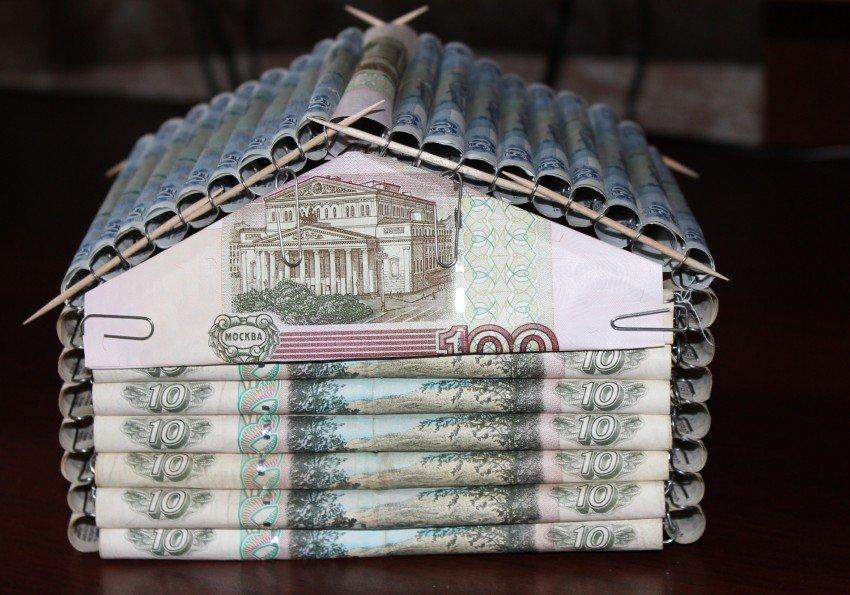 Креативные открытки с деньгами