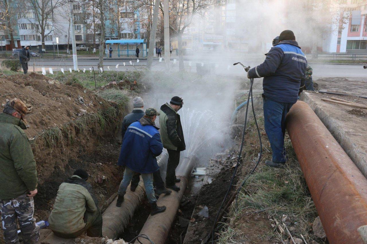 ВКерчи без тепла остались 140 домов