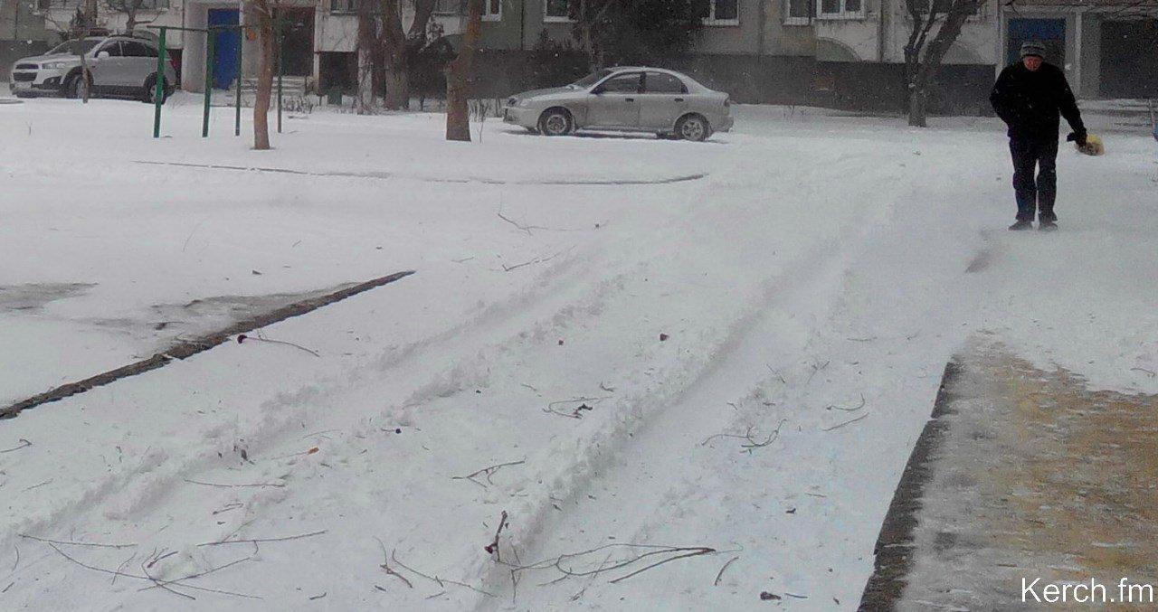ВКрыму сегодня днём -2…+5 градусов, дождь, снег, сильный ветер
