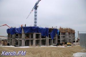 В Керчи в доме для «заливчан» строят четвертый этаж