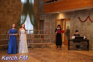 В Керчи прошел концерт вокалистов