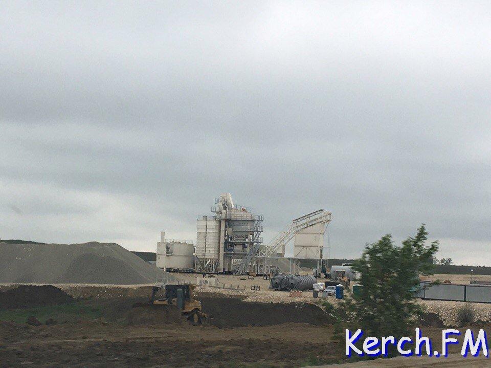 ВКрыму началось строительство трассы «Таврида»