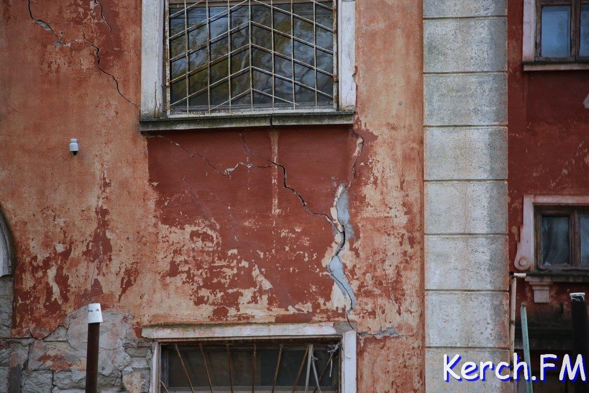ВКерчи рухнуло строение университета