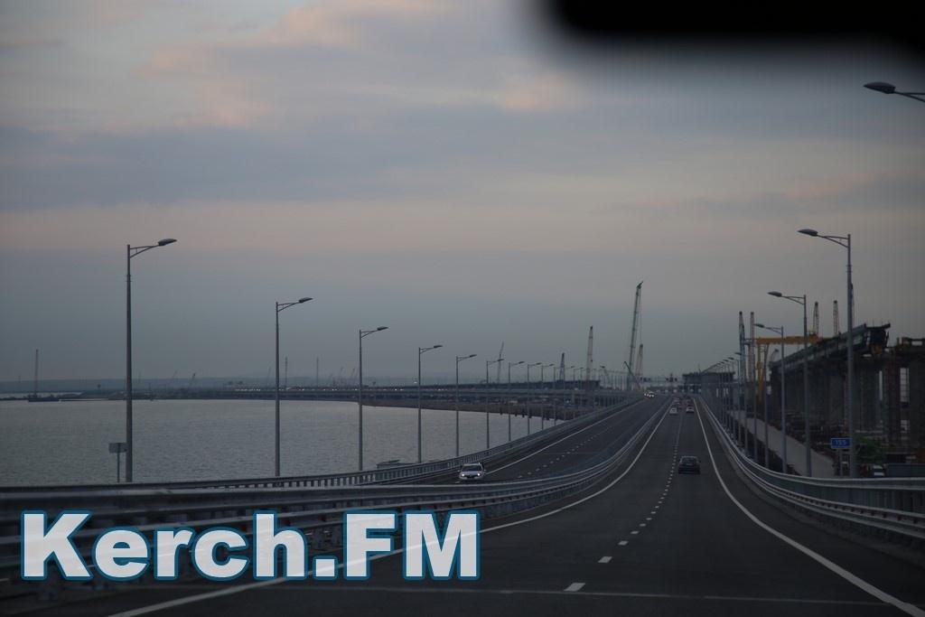 Настроительстве Крымского моста умер рабочий