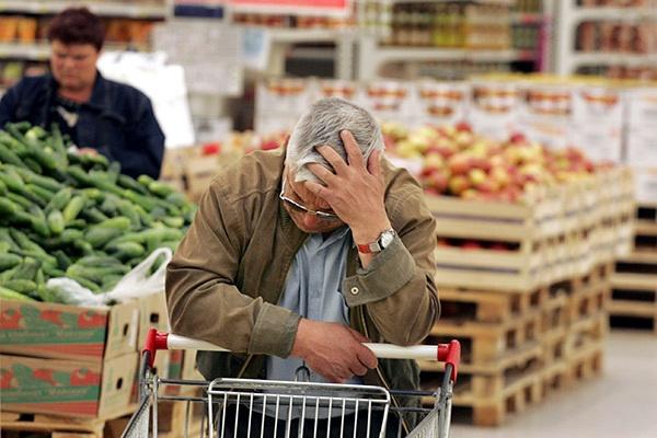 Самые нужные продукты питания значительно возрастут вцене