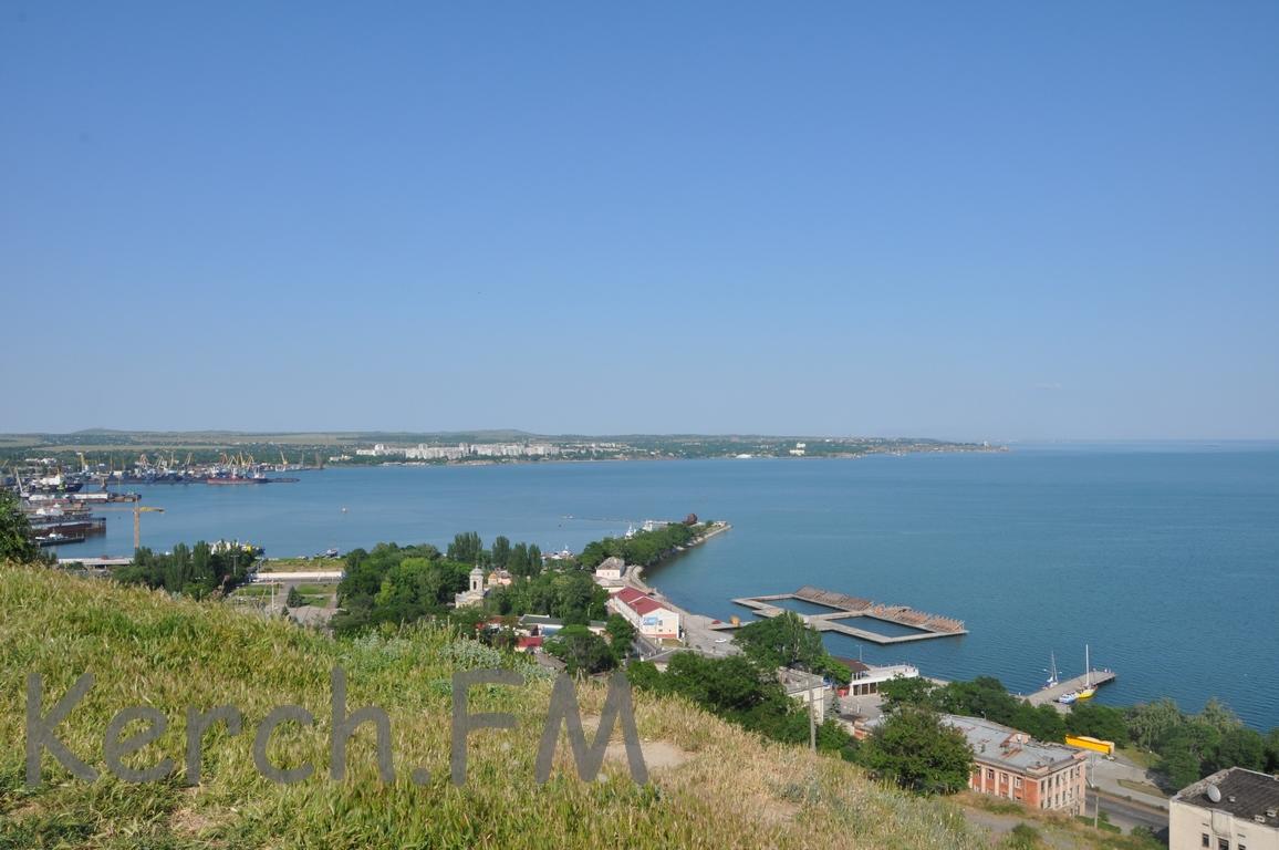 Крымский мост приводит кобмелению акватории уКерчи