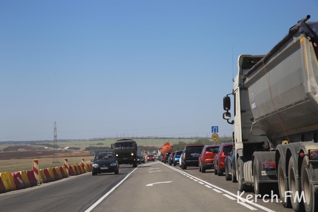 Дорога «Таврида» вКрыму готова на60% — Минтранс