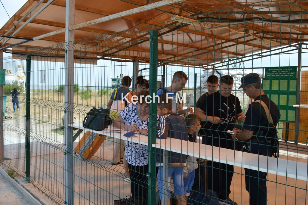 Крымские таможенники  сказали  оросте турпотока с государства Украины