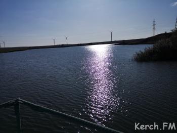 Станционное водохранилище в Керчи заполнено более чем наполовину