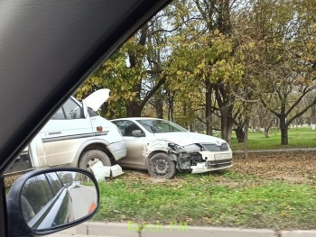 На Кирова напротив «Черепашки» произошло ДТП